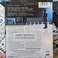 "Jerry Seinfeld Live on Broadway Snapcase DVD - ""I'm Telling You For The Last Time"""