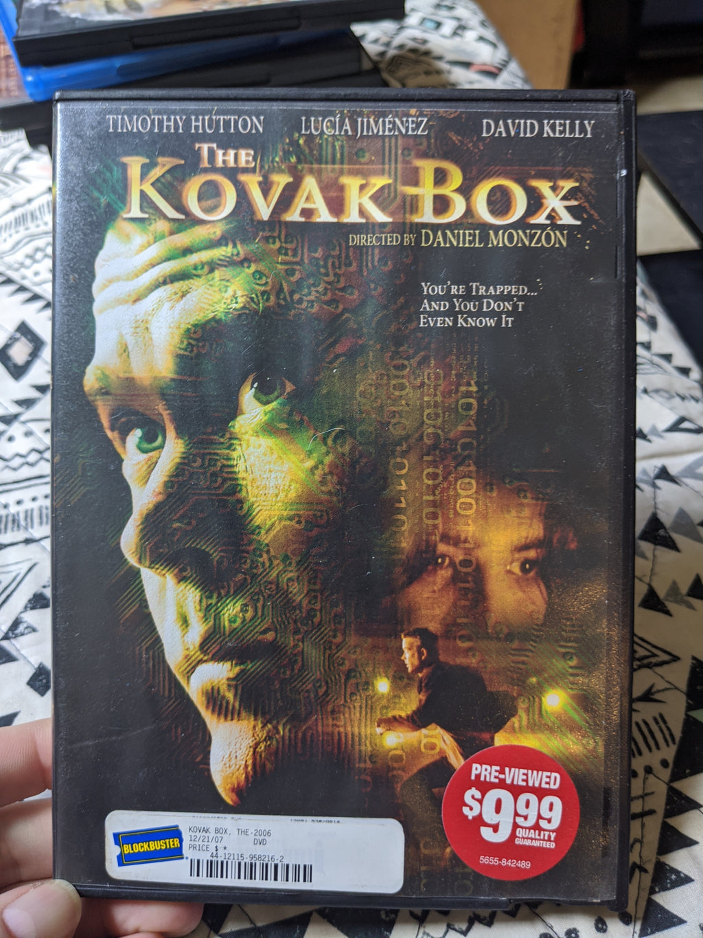 The Kovak Box - Timothy Hutton - Lucia Jimenez
