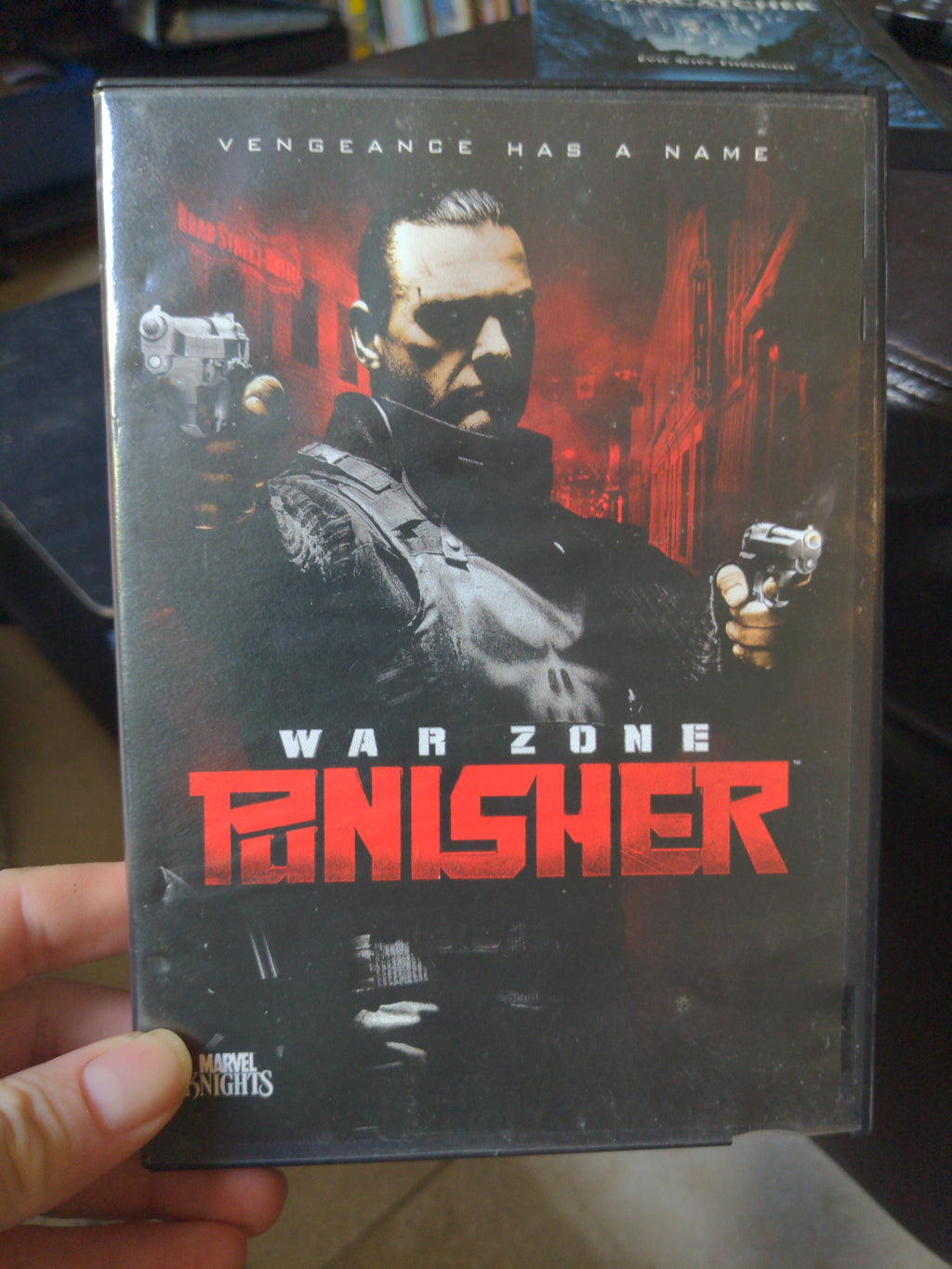 Punisher War Zone - Marvel Knights DVD - Ray Stevenson
