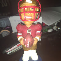 Jeff Garcia San Francisco 49ers Bobble Dobble Bobblehead Figure with Face Mask