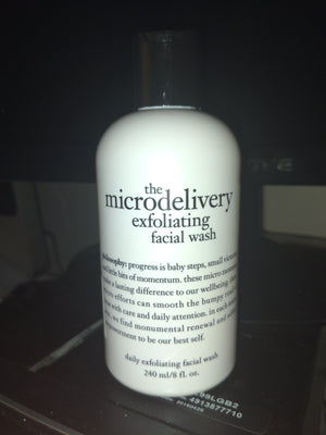 Philosophy Microdelivery Exfoliating Facial Wash 8oz Factory Sealed Under Cap