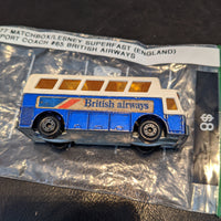 1977 Matchbox Lesney Superfast UK #65 British Airways Airport Coach