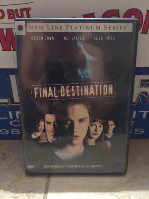 Final Destination New Line Platinum Series DVD with Chapter Insert