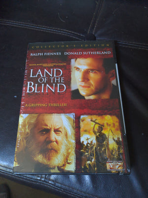 Land Of The Blind Collector's Edition New DVD Ralph Fiennes