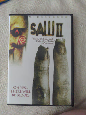 Saw II Widescreen Horror DVD - Donnie Wahlberg - Dina Meyer