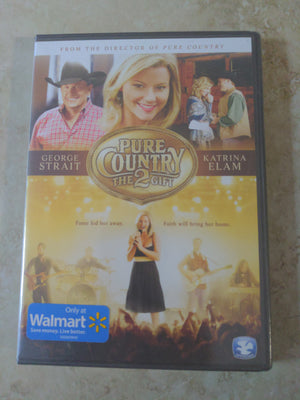 Pure Country 2 DVD: The Gift NEW Walmart George Strait Katrina Elam