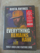 Busta Rhymes Everything Remains Raw SEALED NEW Comedy DVD
