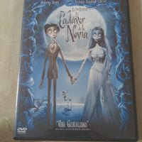 Corpse Bride Spanish Version DVD El Cadaver De La Novia Tim Burton Widescreen