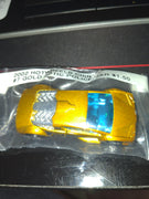 2002 Hot Wheels China #7 Gold Zotic Police Die-Cast Car