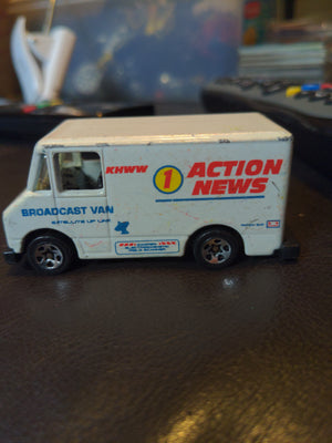 1986 Hot Wheels KNWW Action News Broadcast Van