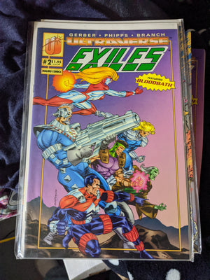 Malibu Ultraverse Comics The Exiles #2