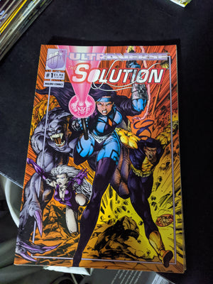 Malibu Ultraverse Comics The Solution #1 (1993)
