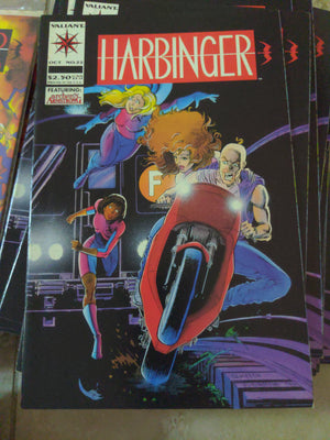 Harbinger #22 - Valiant Comics with Archer & Armstrong