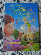 Walt Disney Tinkerbell and the Great Fairy Rescue DVD