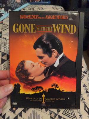 Gone With The Wind Snapcase DVD - Clark Gable - Vivian Leigh