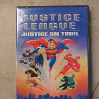 Justice League DC Comics DVD - Justice On Trial - Superman - Batman
