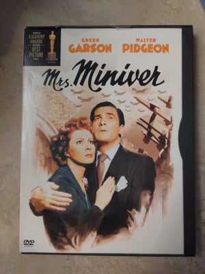 Mrs. Miniver Snapcase DVD (1942) Academy Award Winning Film