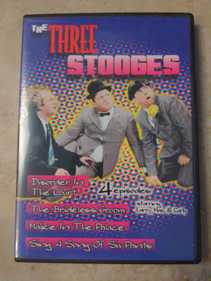 The Three Stooges Volume 1 DVD - 4 Episodes