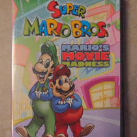 Super Mario Bros Mario's Movie Madness DVD Nintendo NCircle DIC