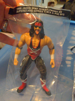 1998 Jakks WWF Superstars Series 7 Wrestlemania XV BCA X-Pac Wrestling Figure