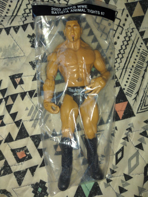 2003 Jakks WWE Wrestling Batista Animal Tights Figure