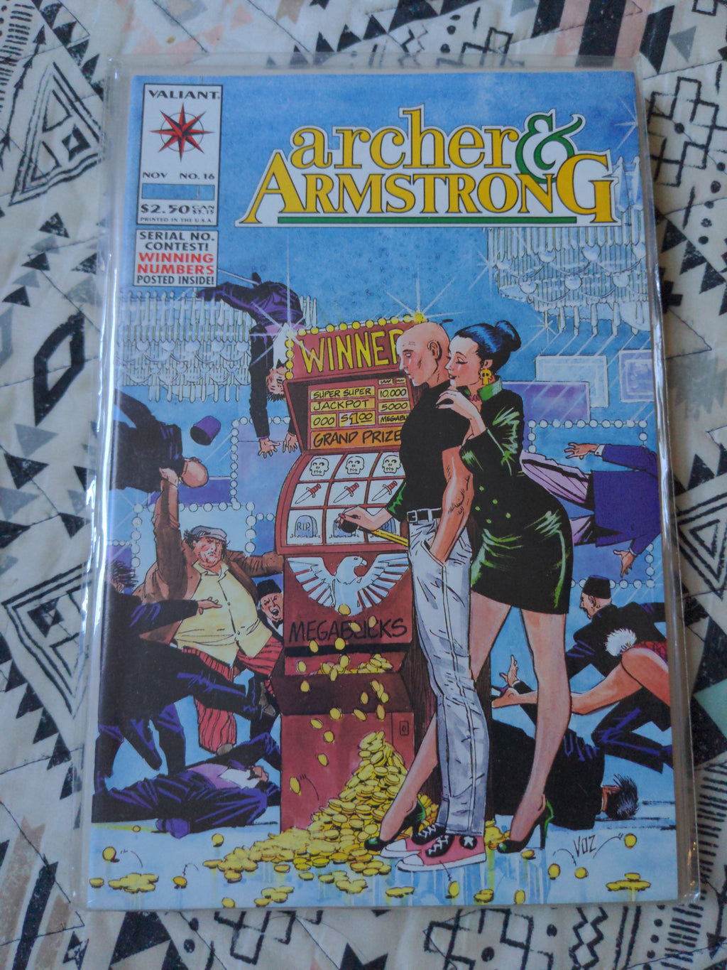 Archer & Armstrong #16 - Valiant Comics