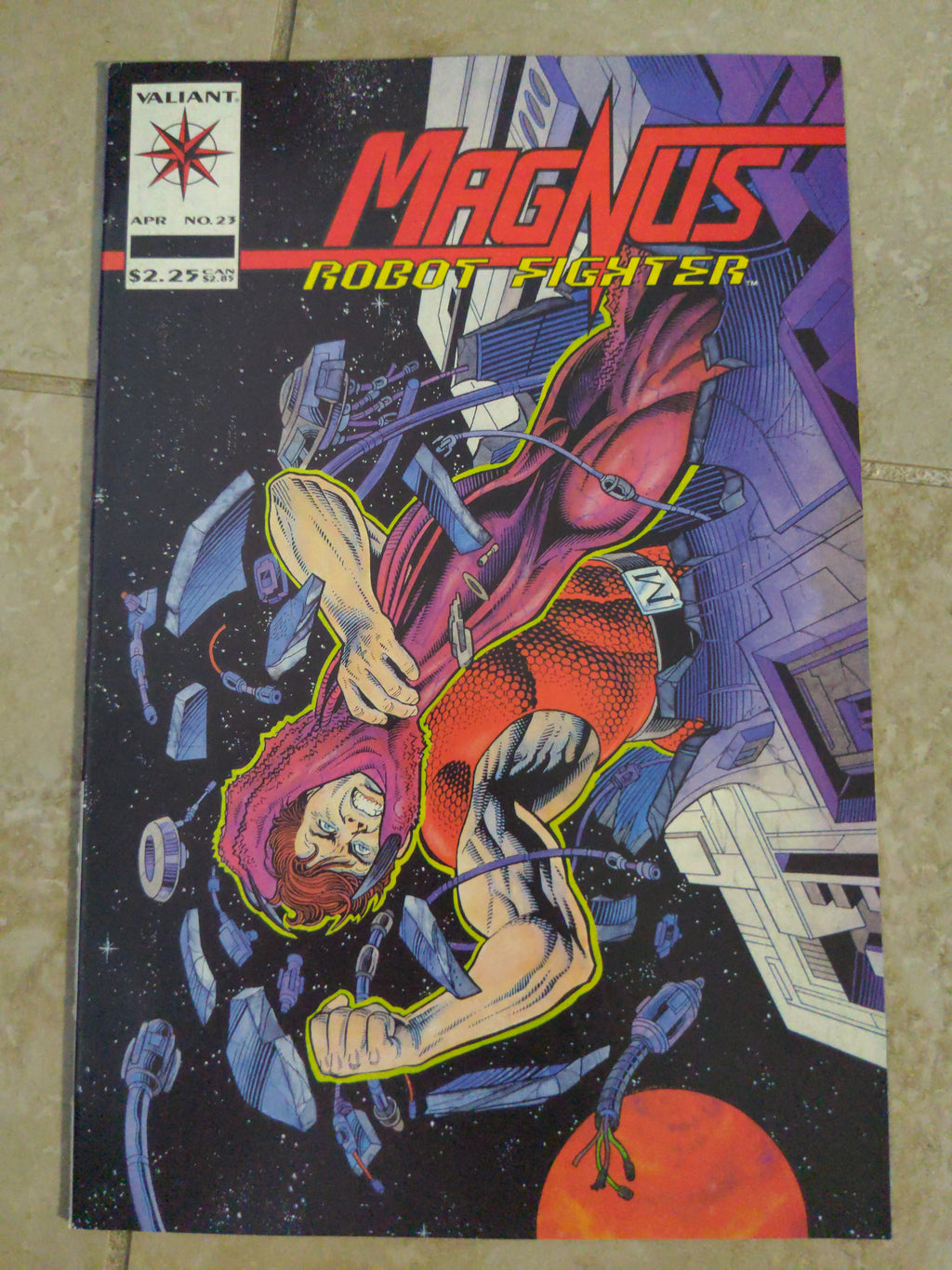 Magnus Robot Fighter #23 vol 2 (1993) Valiant Comics