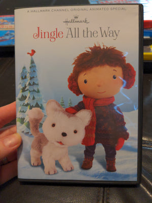 Hallmark Jingle All The Way Animated Special DVD with Read A Long CD OOP