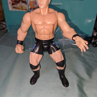 1996 Jakks Hardcore Bob Holly with Job Squad Tights Wrestling Figure