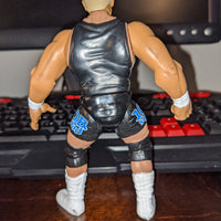 1998 Jakks WWF Summerslam '99 Job Squad Hardcore Bob Holly Wrestling Figure