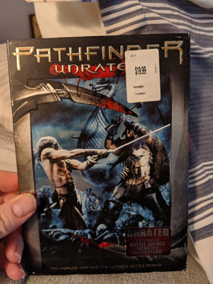 Pathfinder Unrated DVD w/Slipcover & Insert - Karl Urban - Extended Battle Scenes
