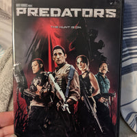 Predators DVD with Slipcover - Robert Rodriguez - Adrien Brody - Laurence Fishburne