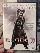 Blade II 2 Disc DVD Wesley Snipes - New Line Platinum Series (2002)