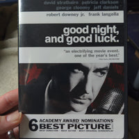 Good Night, And Good Luck Widescreen DVD - George Clooney - Frank Langella