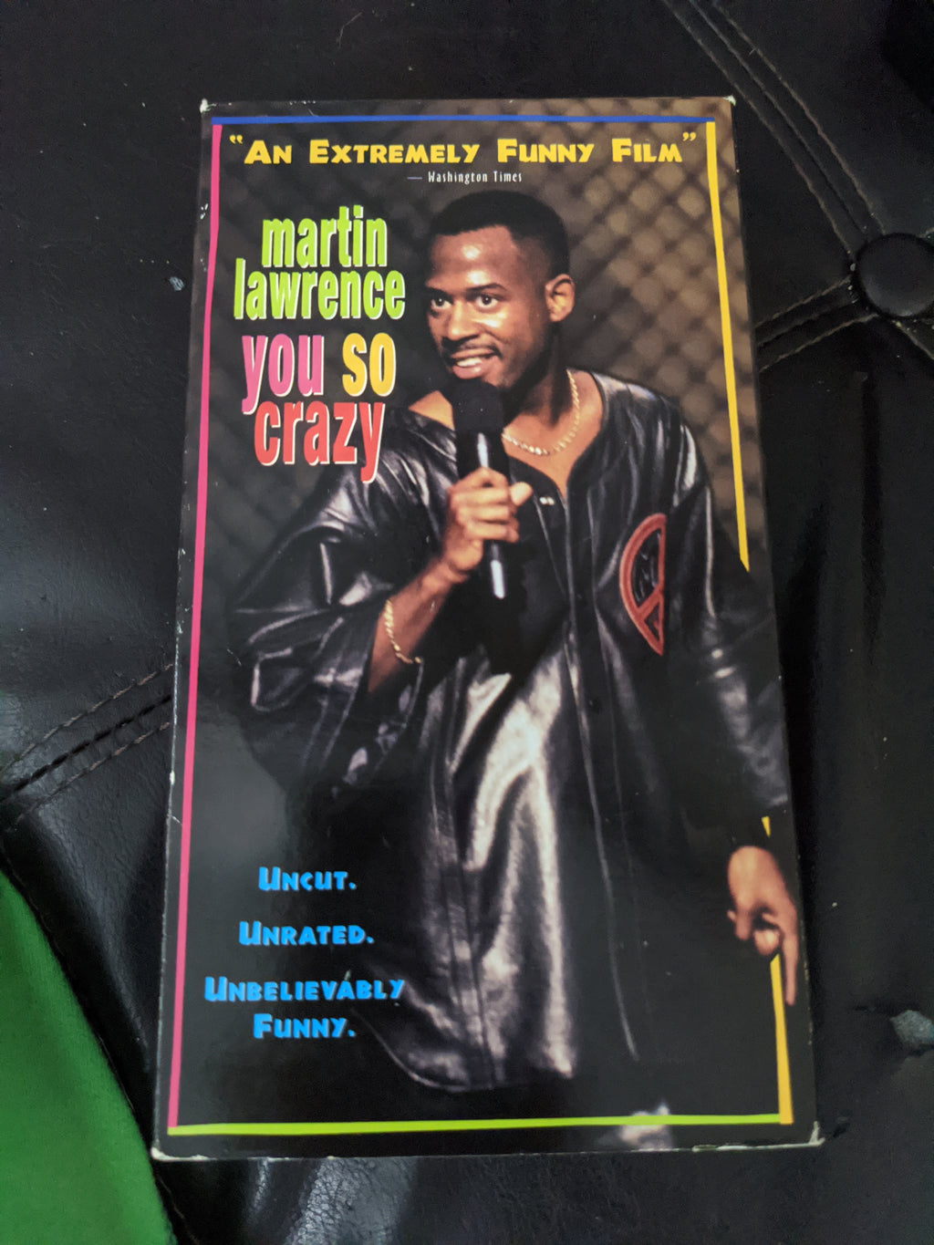 Martin Lawrence Live You So Crazy Stand-Up Comedy VHS Tape