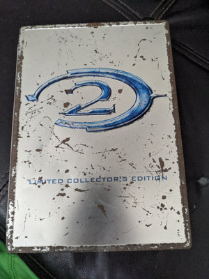 XBOX Halo 2 Limited Collector's Edition Steelbook (2004) Videogame