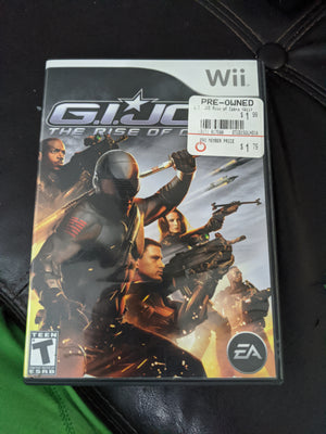Nintendo Wii G.I. Joe: The Rise of Cobra Videogame