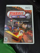 Nintendo Wii Pinball Hall Of Fame: The Williams Collection CIB Videogame