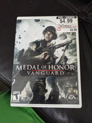 Nintendo Wii Medal of Honor Vanguard CIB Disc, Case & Instruction Booklet