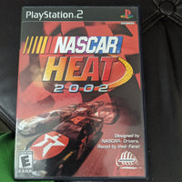 Playstation 2 PS2 NASCAR Heat 2002 Complete with Disc, Case & Instruction Booklet