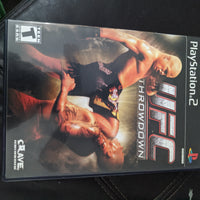 Playstation 2 PS2 UFC Throwdown Complete with Case, Disc & Instruction Booklet