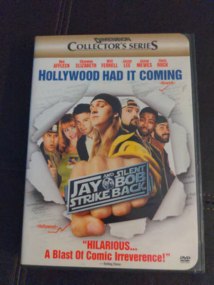 Jay and Silent Bob Strike Back 2 DVD Collector's Series w/Inserts