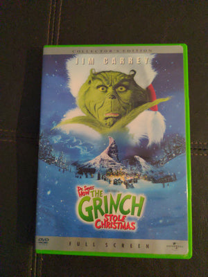 Dr. Seuss' How The Grinch Stole Christmas Collector's Edition DVD w/Booklet Jim Carrey