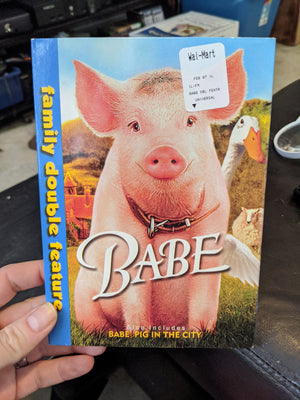 Babe & Babe Pig In The City Family Double Feature DVD with Slipcover