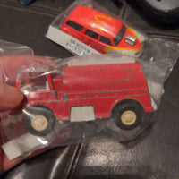 1970 Tootsie Toy Chemical Extinguisher Red Emergency Truck