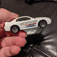 1999 Matchbox Superfast #3 White Mustang Coupe Die-Cast Car