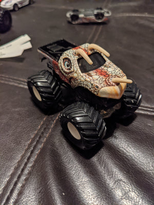 2003 Hot Wheels Thailand Monster Jam Jurassic Attack #20 Monster Truck