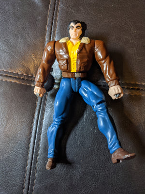 1994 Toybiz X-Men 7th Edition Street Clothes Wolverine Figure