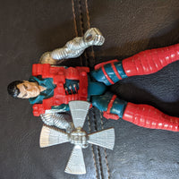 1993 Toybiz X-Men X-Force Double Fisted Weapon Kane Figure