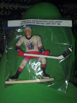 1999 Kenner Starting Lineup SLU Convention Exclusive NY Rangers Wayne Gretzky Figure